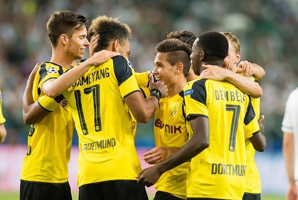 Dortmund thang 6-0 o Champions League anh 6