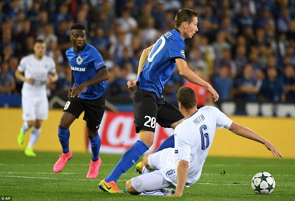 Leicester thang 3-0, dan dau bang o Champions League hinh anh 7