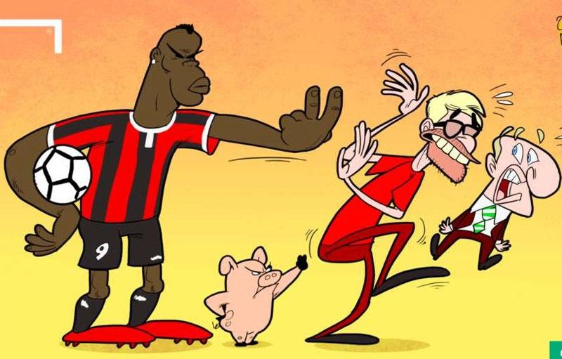 Hi hoa Jose Mourinho dam vo mat Arsene Wenger hinh anh 5