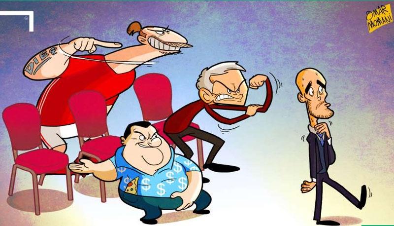 Hi hoa Jose Mourinho dam vo mat Arsene Wenger hinh anh 4