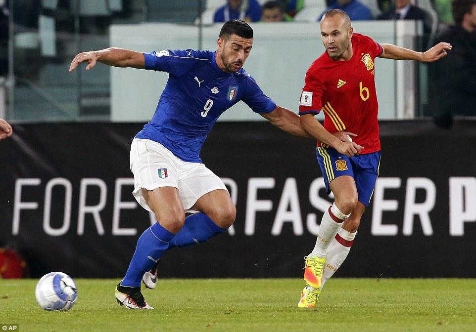 Tay Ban Nha mat chien thang truoc Italy anh 2