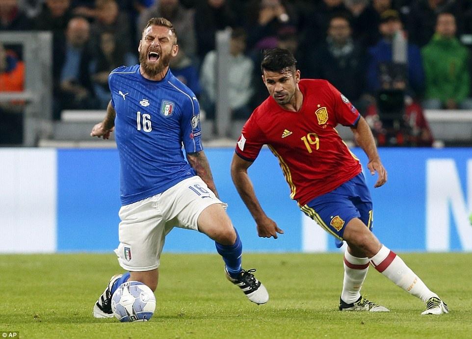 Tay Ban Nha mat chien thang truoc Italy anh 3