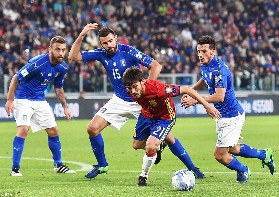 Tay Ban Nha mat chien thang truoc Italy anh 5