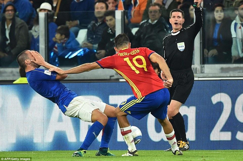 Tay Ban Nha mat chien thang truoc Italy anh 8