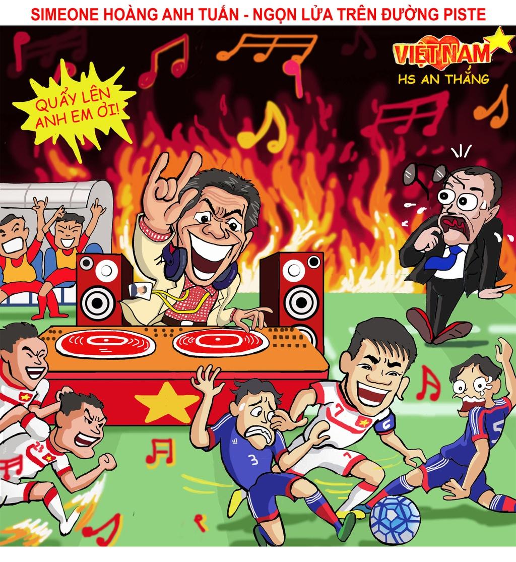 Biem hoa Thai Lan vung vay ao lang, VN vay chao di World Cup hinh anh 3