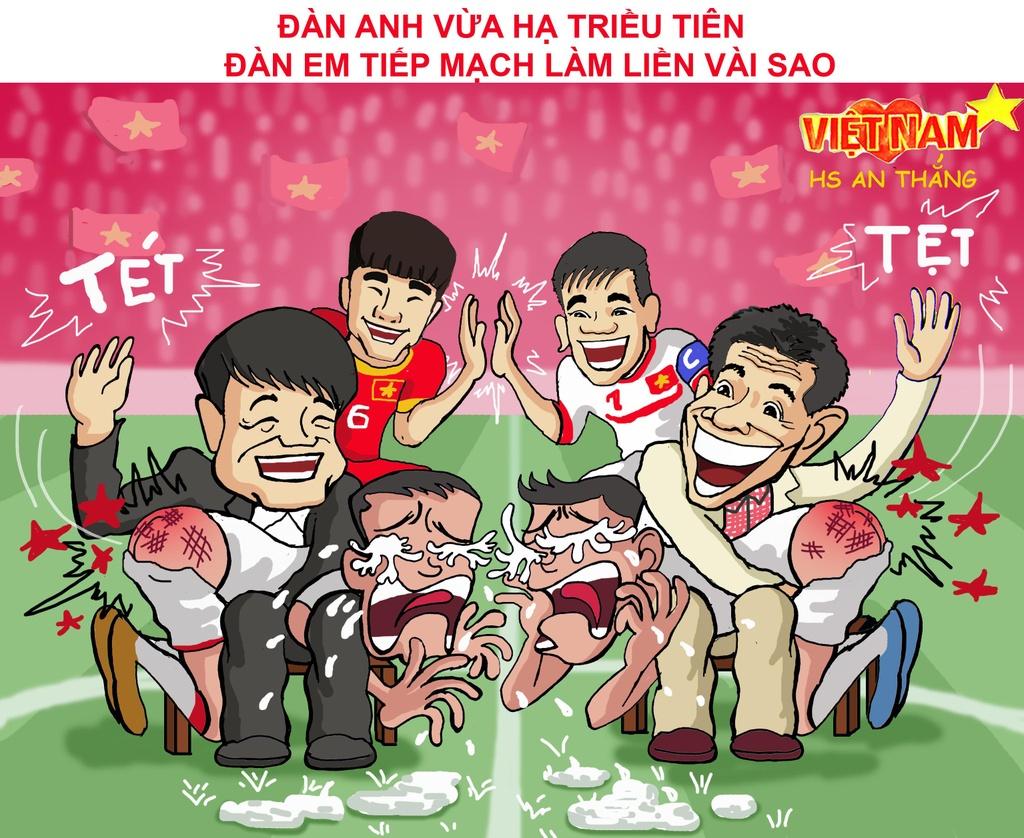 Biem hoa Thai Lan vung vay ao lang, VN vay chao di World Cup hinh anh 4