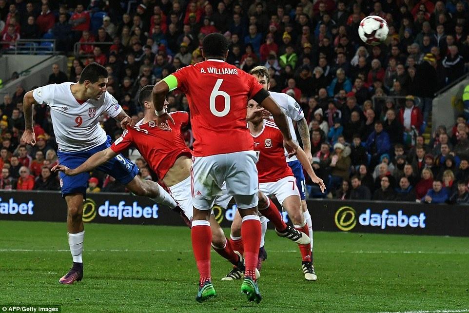 Bale ghi ban cho DT xu Wales anh 10