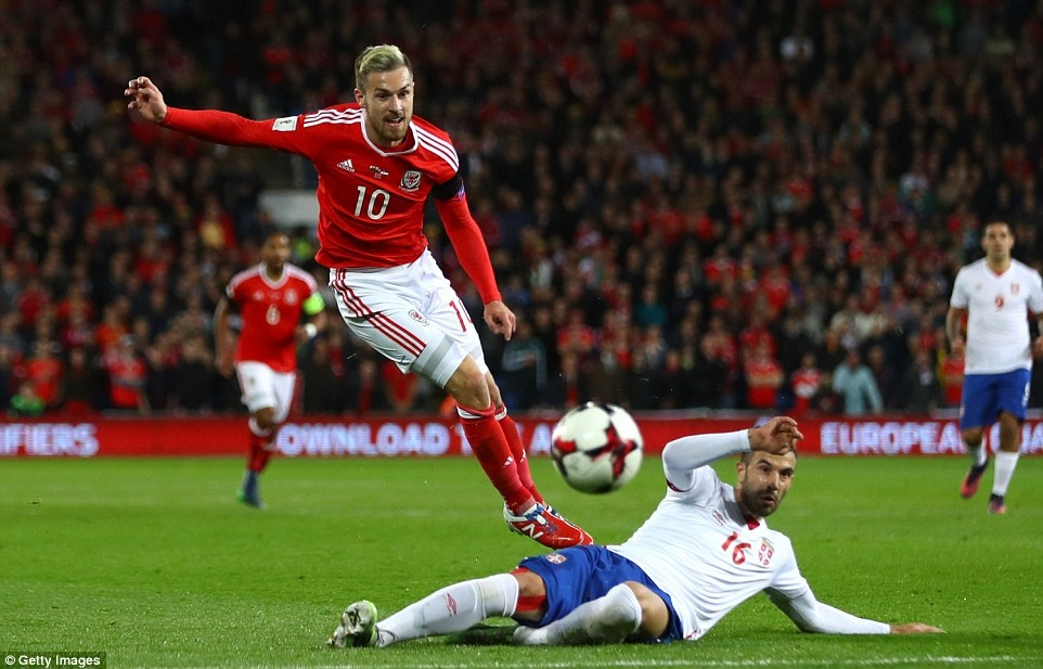 Bale ghi ban cho DT xu Wales anh 5