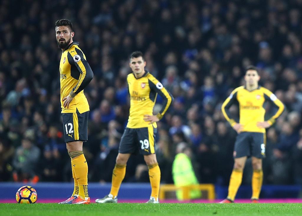 Arsenal thua nguoc 1-2 truoc Everton anh 9