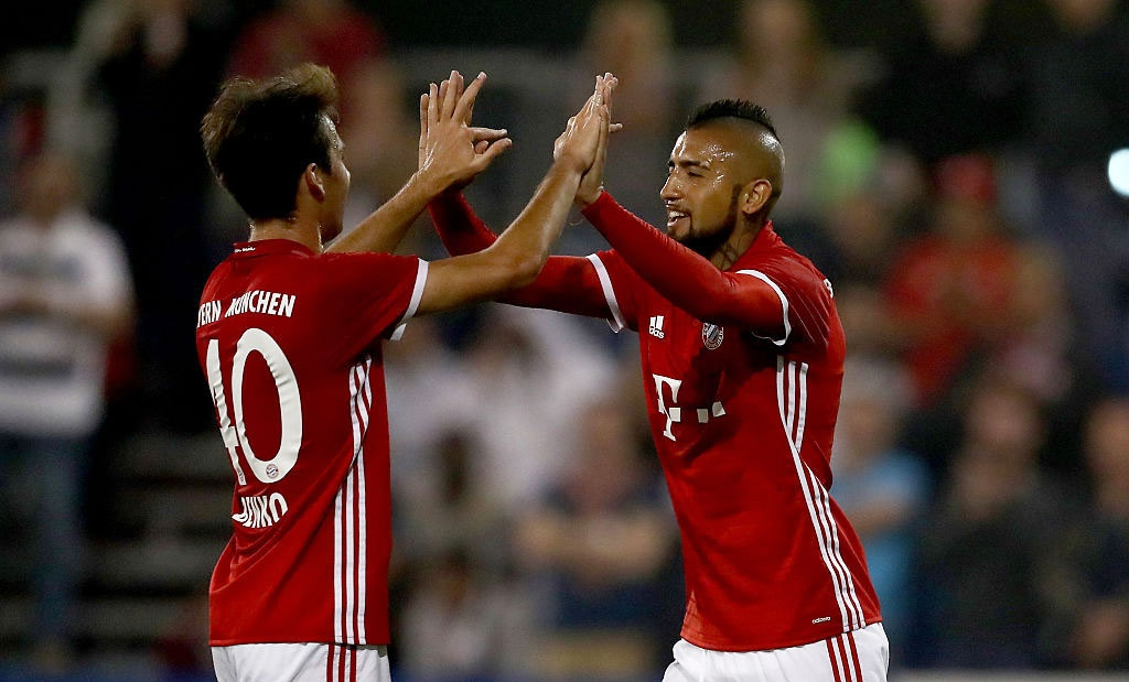 Cau thu Bayern thach Arsenal choi tan cong hinh anh 7