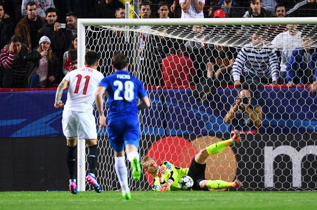 Vardy giup Leicester co ban thang Champions League anh 4