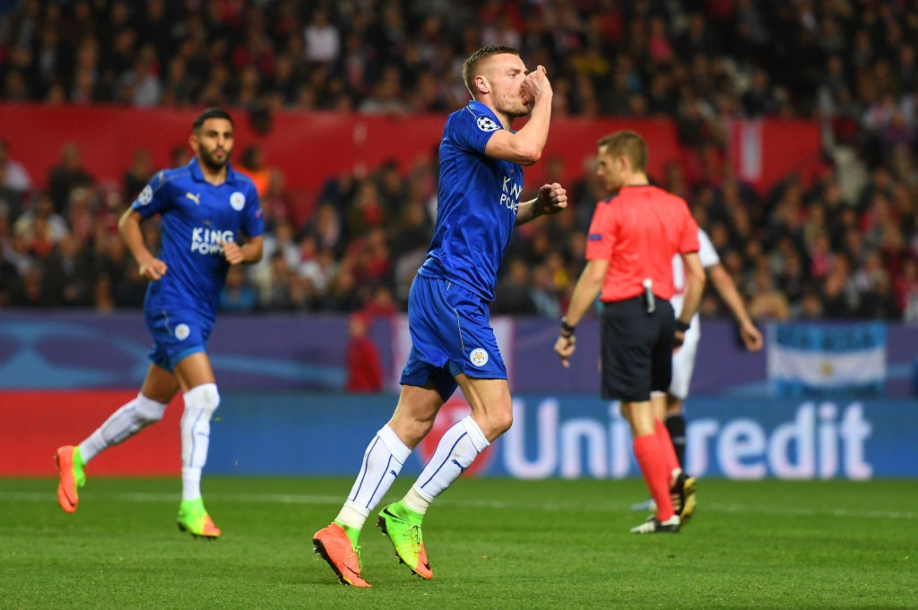 Vardy giup Leicester co ban thang Champions League anh 7