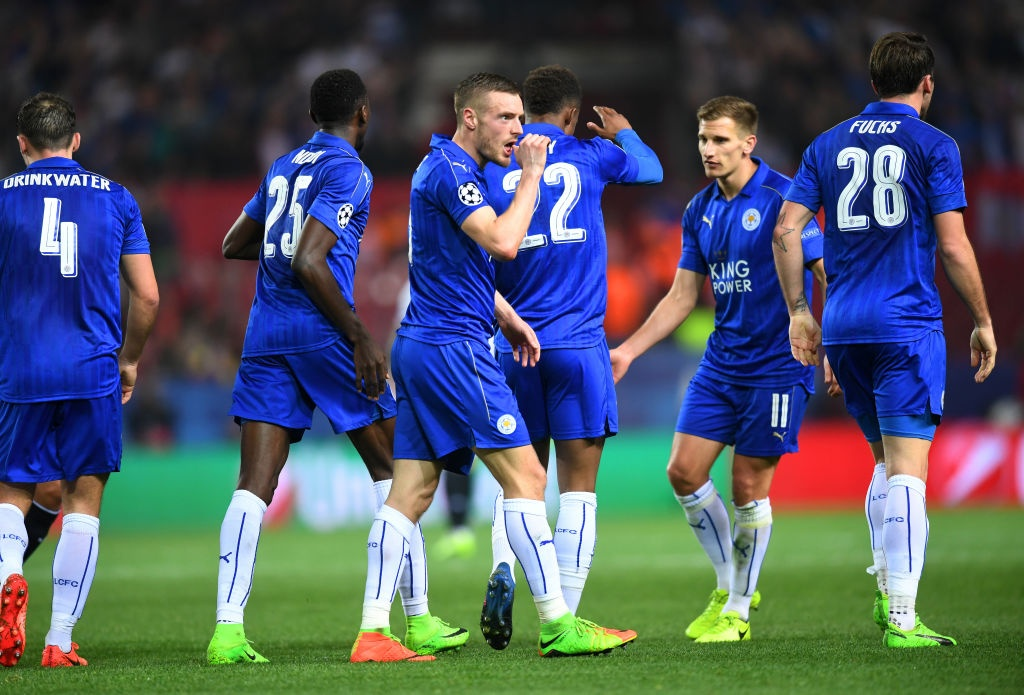 Vardy giup Leicester co ban thang Champions League anh 9