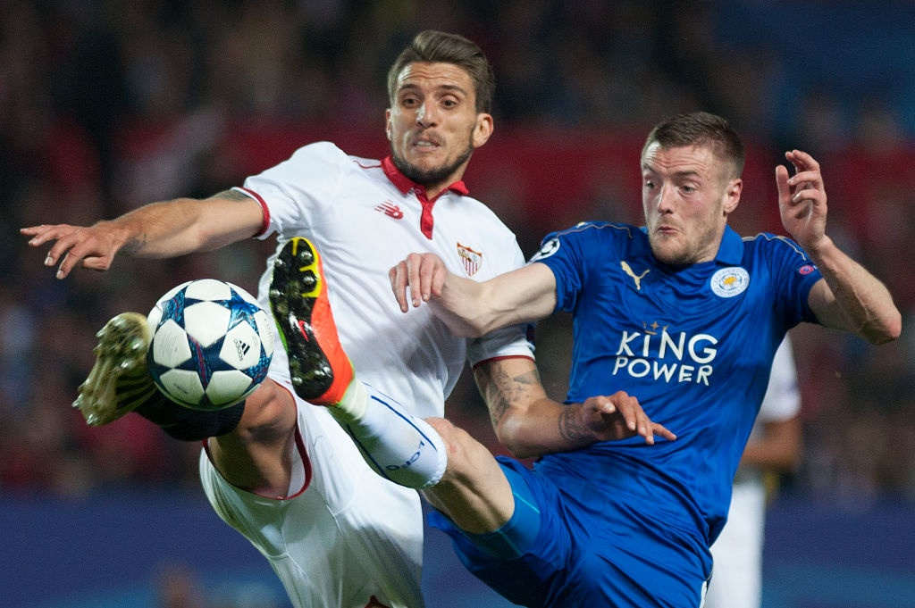 Vardy giup Leicester co ban thang Champions League anh 3