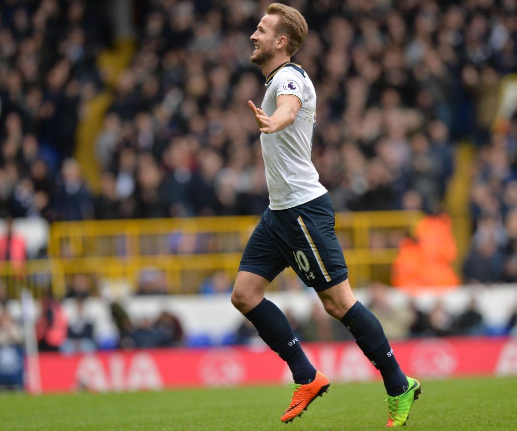 Kane giup Tottenham len vi tri thu 2 anh 5
