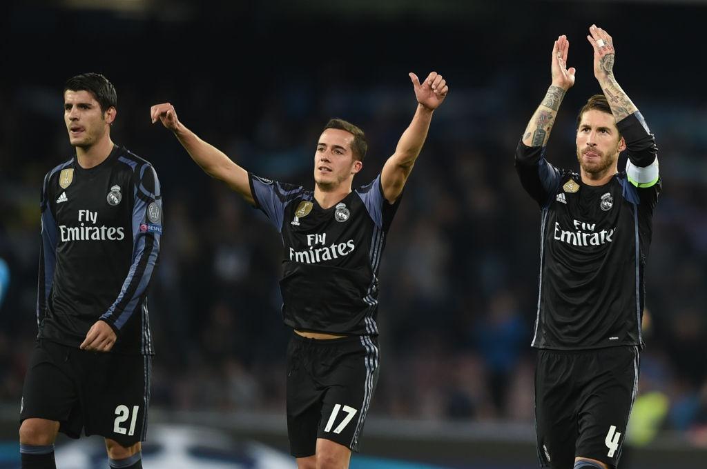 Ronaldo, Benzema va Bale im tieng, Real van thang Napoli hinh anh 9