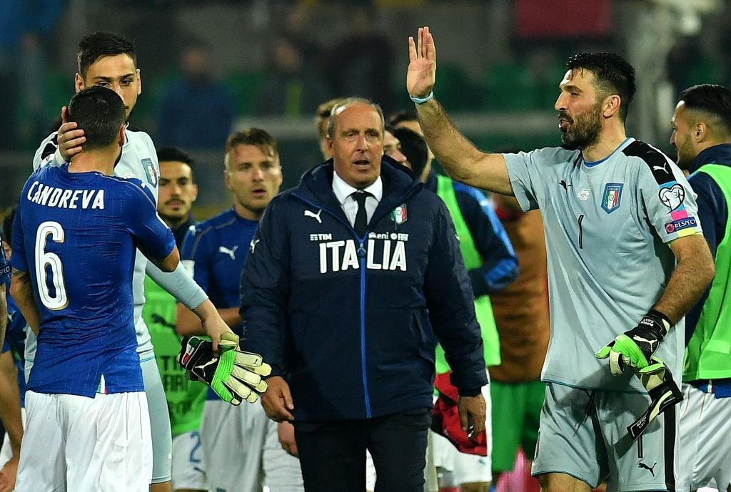 Buffon giu sach luoi trong tran thu 1000, Italy thang 2-0 hinh anh 3