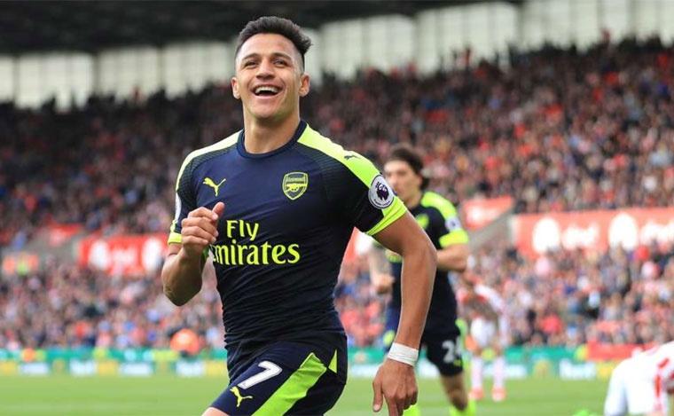 Sanchez lap ky luc, vao doi hinh hay nhat vong 37 Premier League hinh anh 8