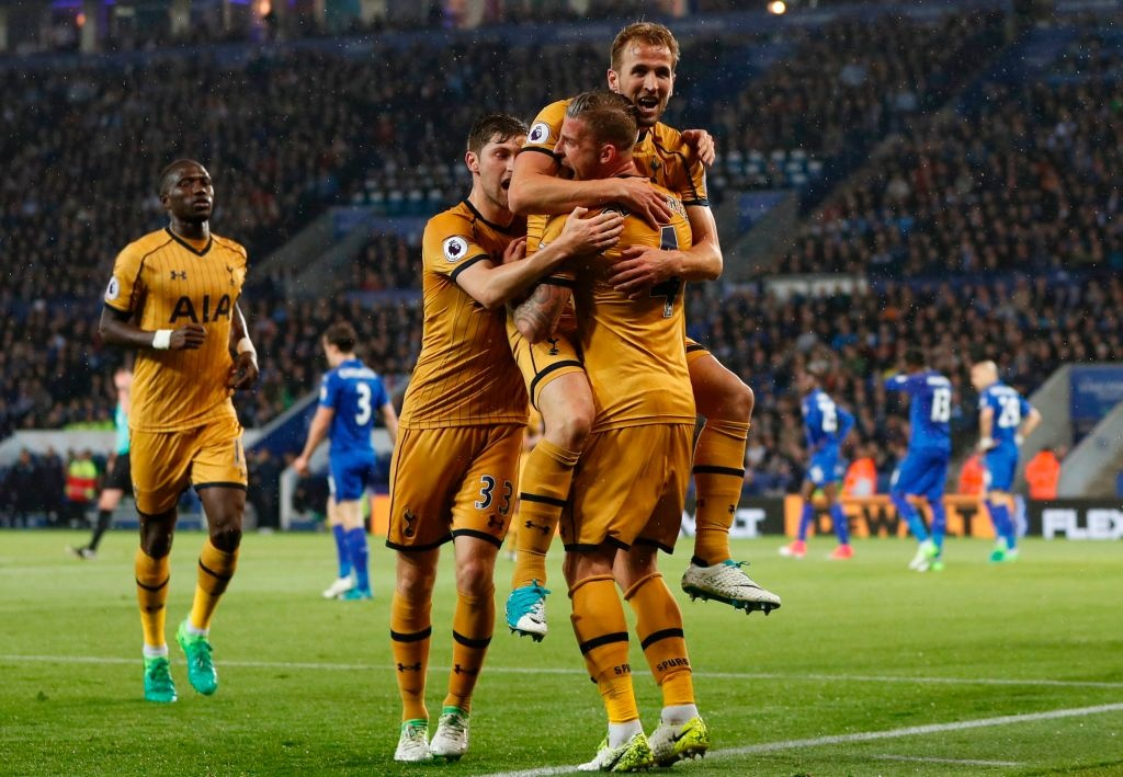 Tottenham thang Leicester 6-1 truoc ngay ha man Premier League hinh anh 1