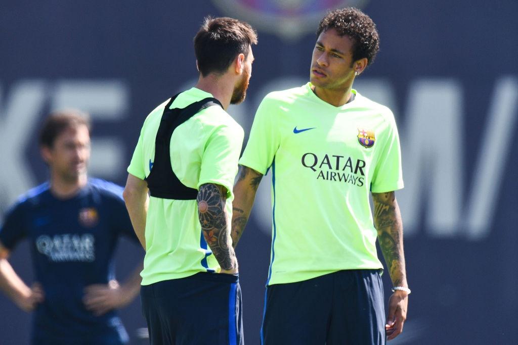 Messi va Neymar buon ba truoc chung ket cup nha vua hinh anh 2