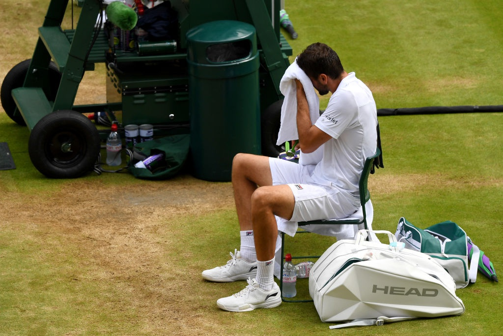 Roger Federer roi le khi lap ky luc vo dich Wimbledon hinh anh 8