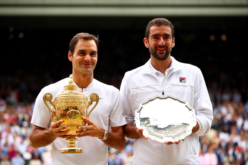 Roger Federer roi le khi lap ky luc vo dich Wimbledon hinh anh 11