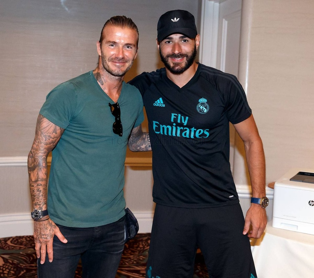 David Beckham hoi ngo voi Zidane va Raul hinh anh 6
