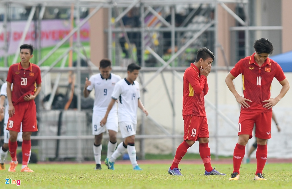 U22 VN that vong va nuoi tiec roi SEA Games 29 hinh anh 1