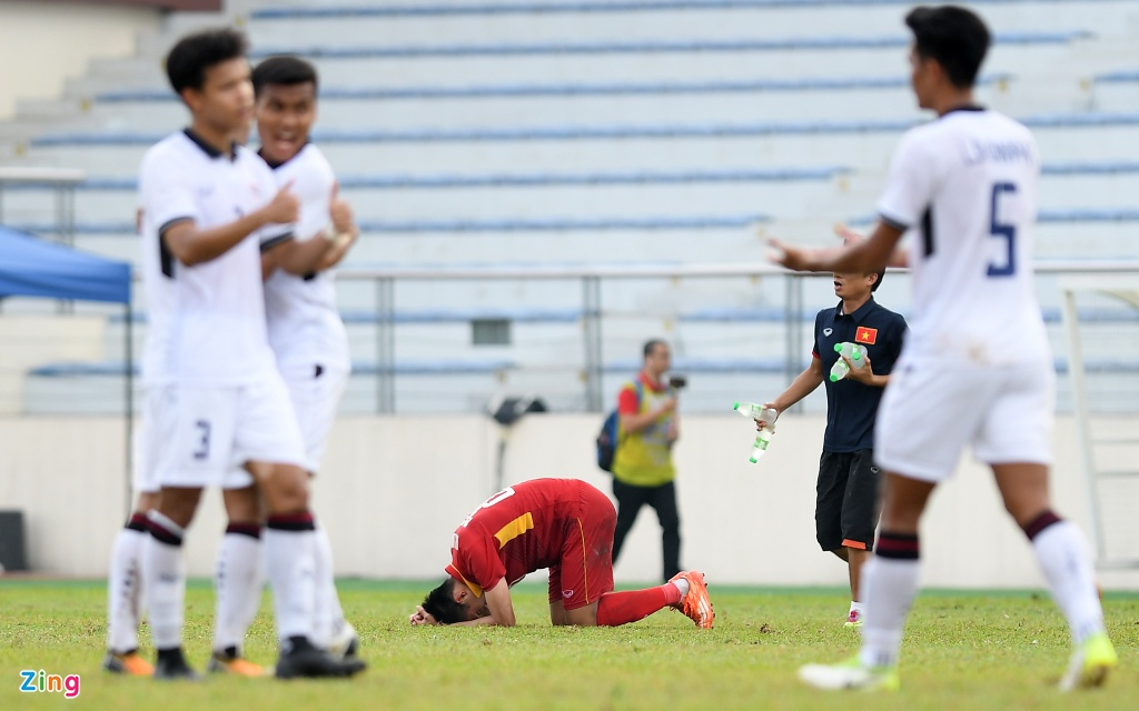 U22 VN that vong va nuoi tiec roi SEA Games 29 hinh anh 11