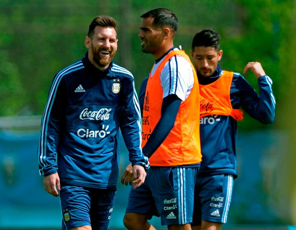 Messi vui ve du co nguy co vang mat o World Cup 2018 hinh anh 1