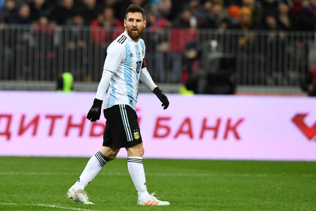 Messi bat luc, Argentina van thang chu nha World Cup 2018 hinh anh 9