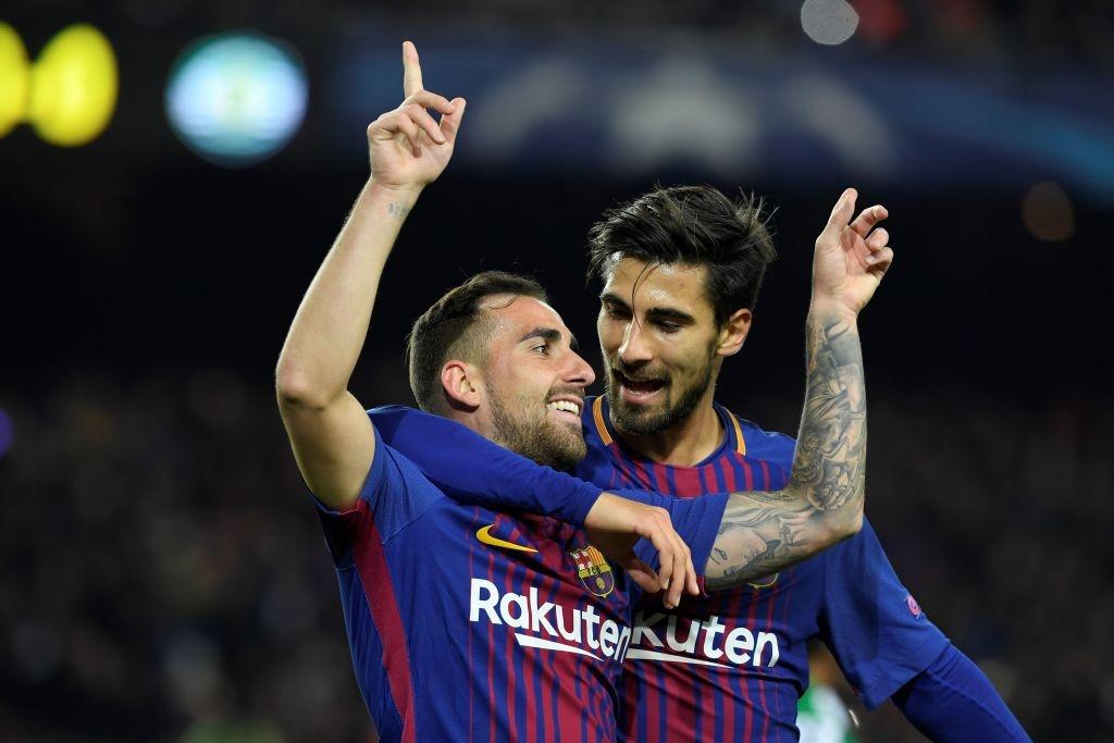 Barca thang Sporting 2-0, keo dai mach bat bai mua nay hinh anh 1