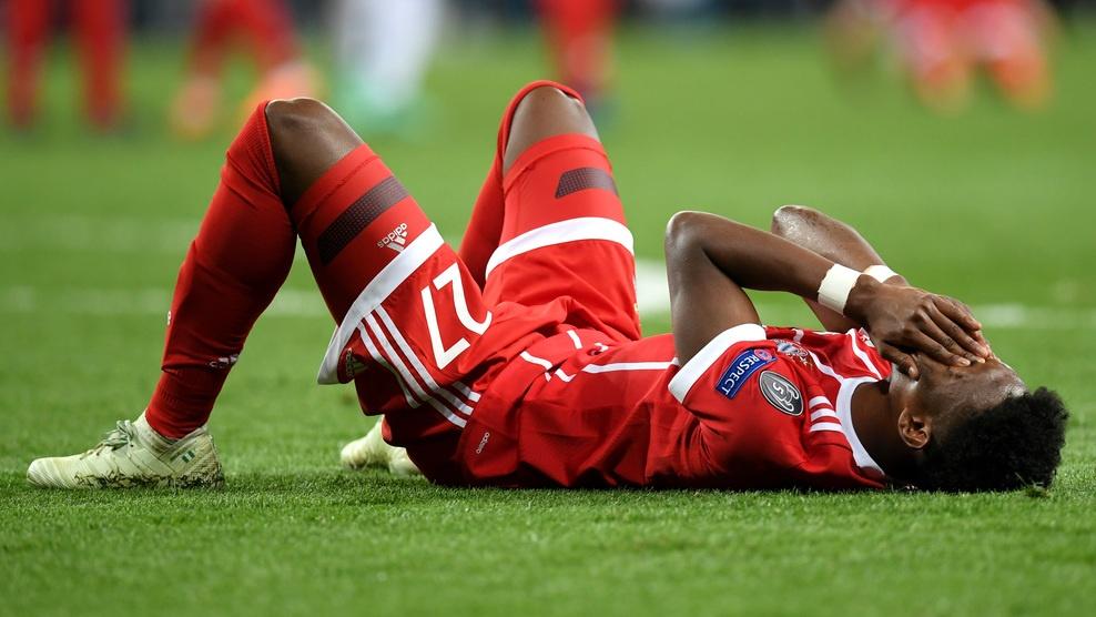 Cau thu Bayern om dau that vong truoc Real Madrid hinh anh 1