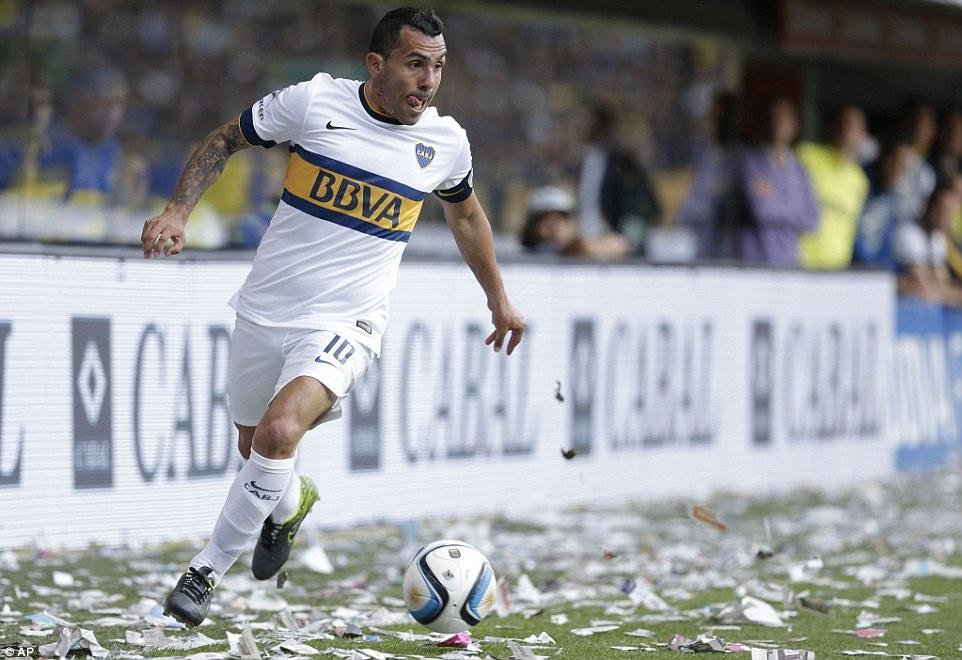 Tevez gianh danh hieu dau tien khi tro lai Boca Juniors hinh anh 8