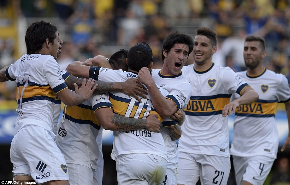 Tevez gianh danh hieu dau tien khi tro lai Boca Juniors hinh anh 6