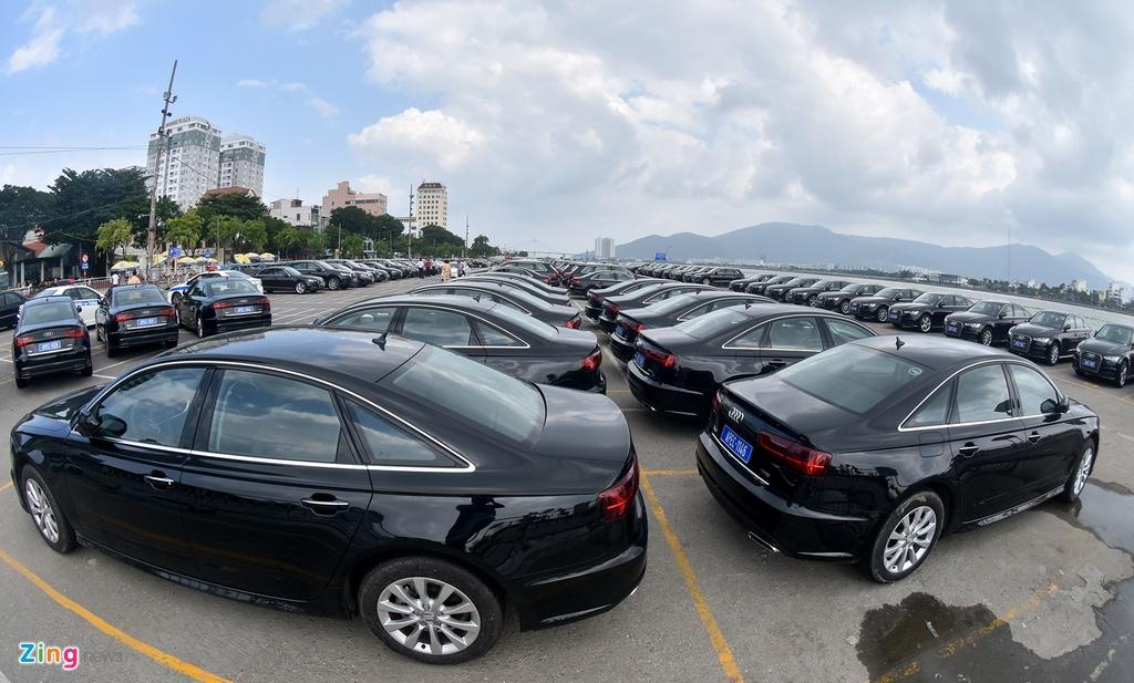 Can canh dan xe Audi phuc vu APEC 2017 hinh anh 3