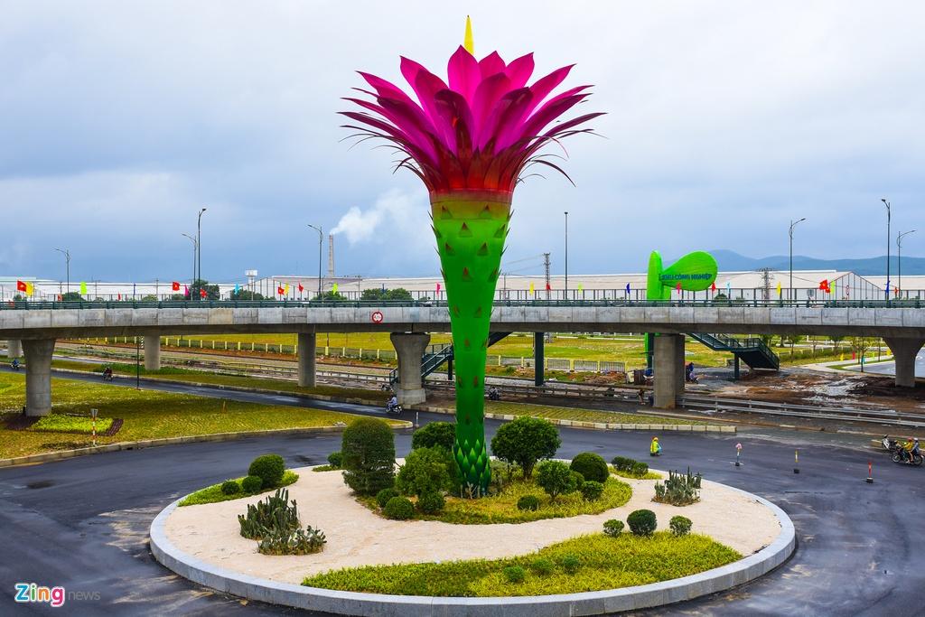 Cau vuot mang bieu tuong hoa xuong rong 600 ty o Quang Nam hinh anh 5