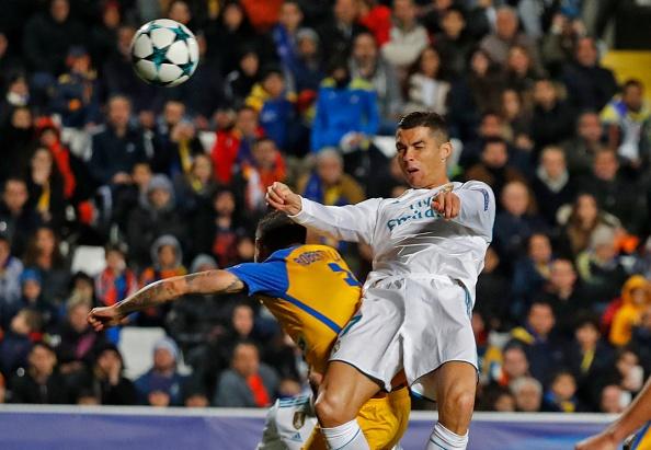 Danh bai APOEL, Real Madrid va Ronaldo lap ky luc Champions League hinh anh 7