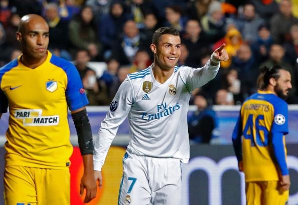 Danh bai APOEL, Real Madrid va Ronaldo lap ky luc Champions League hinh anh 8