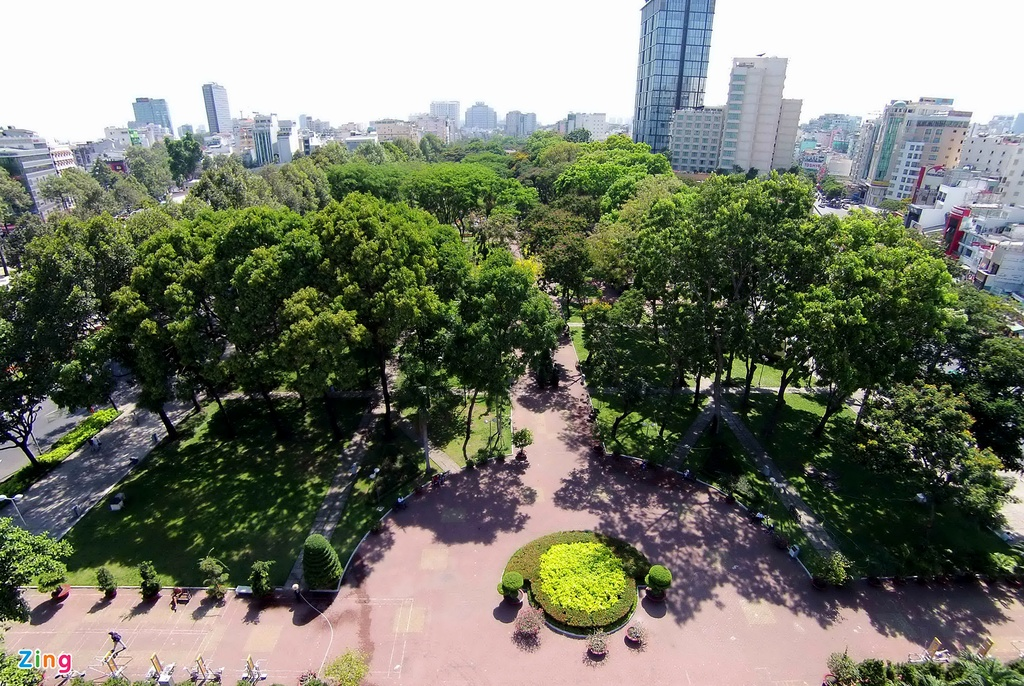 Sai Gon bung 75 cay xanh de xay dung ga metro Ben Thanh hinh anh 2