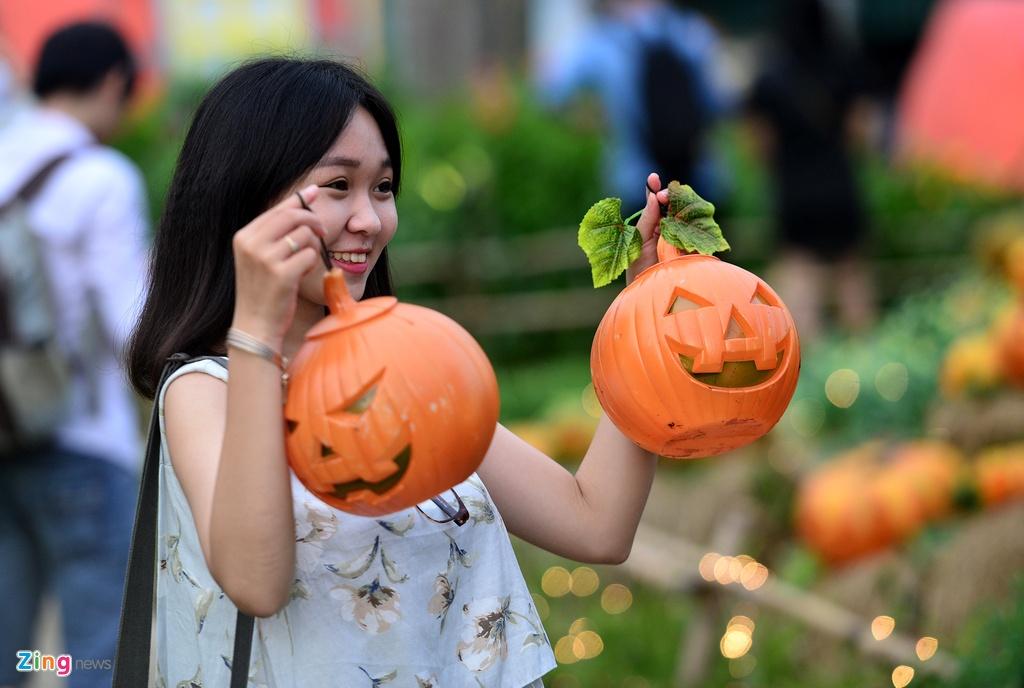 le hoi Halloween o Sai Gon anh 15