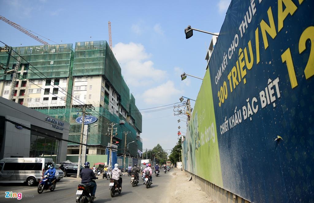 7 du an chen chuc tren truc duong '5 phut toi san bay Tan Son Nhat' hinh anh 7