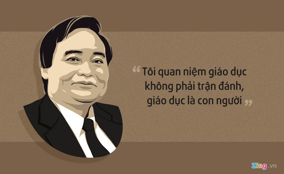 10 phat ngon an tuong cua Bo truong Phung Xuan Nha hinh anh 1