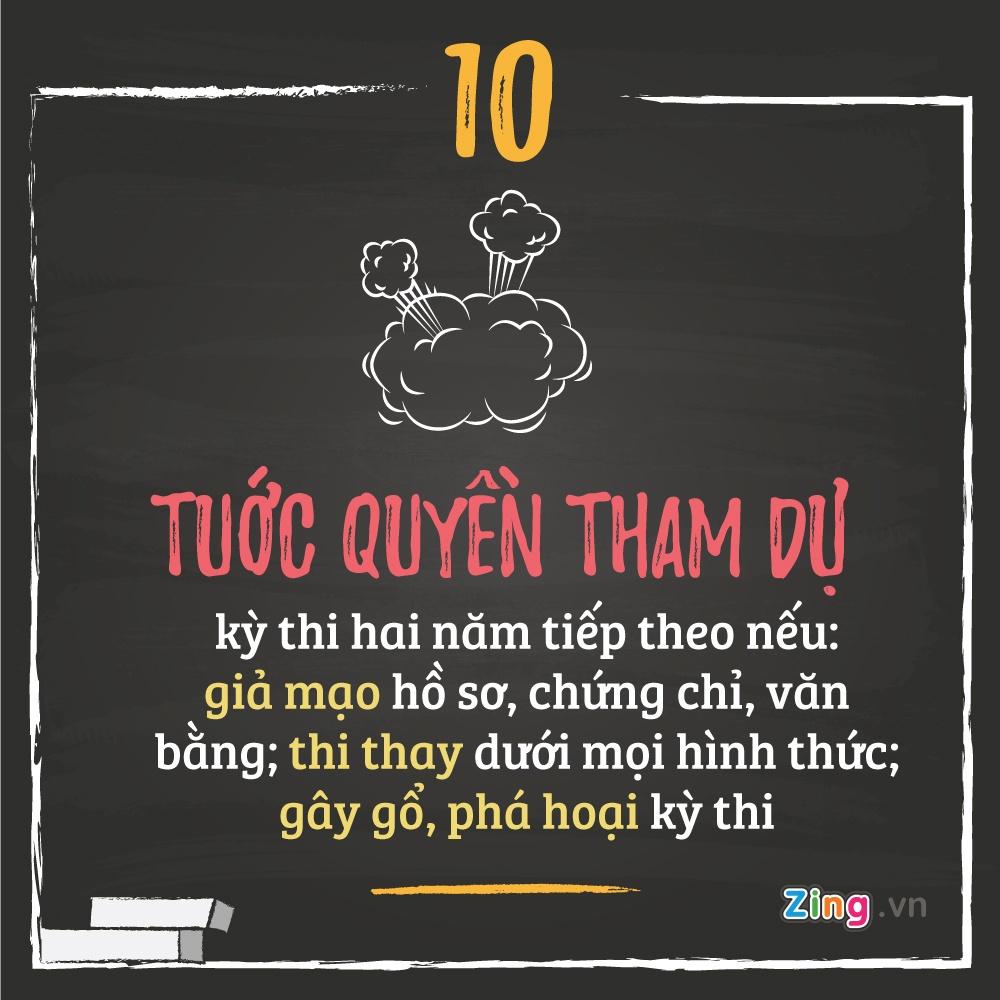10 luu y thi sinh khi thi THPT quoc gia 2016 hinh anh 10