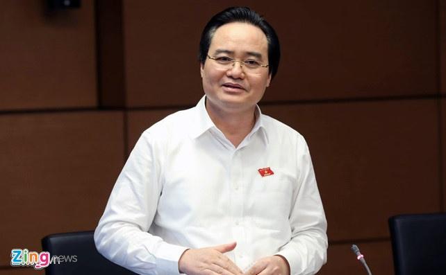 Bo truong Phung Xuan Nha: 'Toi xin nhan trach nhiem' hinh anh 1