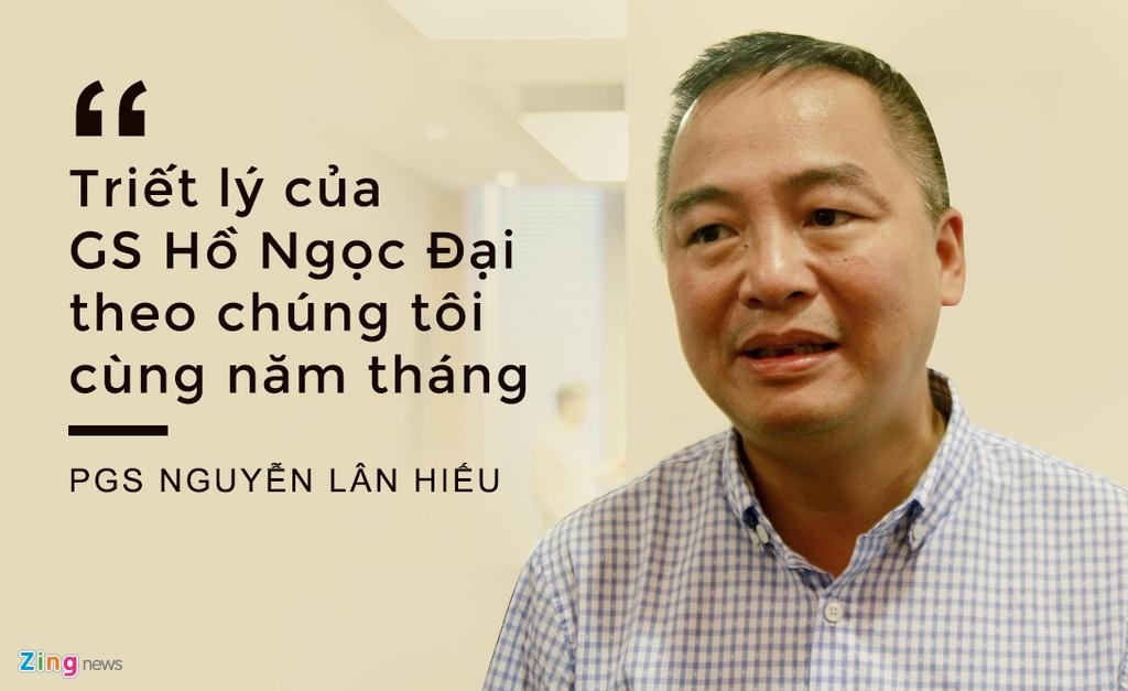 PGS Nguyen Lan Hieu: Co loi ich nhom sau tranh luan ve GS Ho Ngoc Dai hinh anh 1