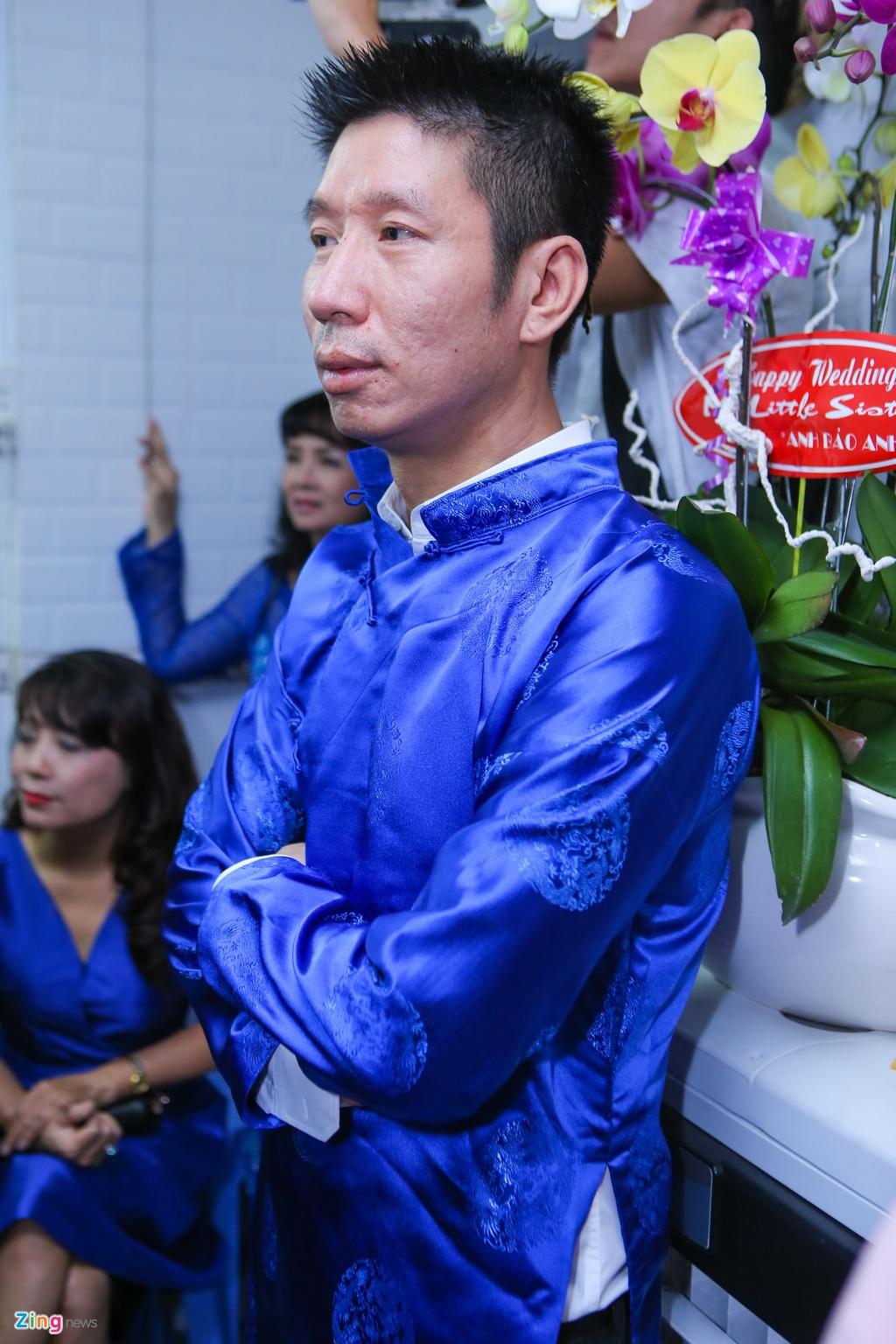 Chu re Viet kieu mac ao dai den hoi cuoi Diem Trang hinh anh 10