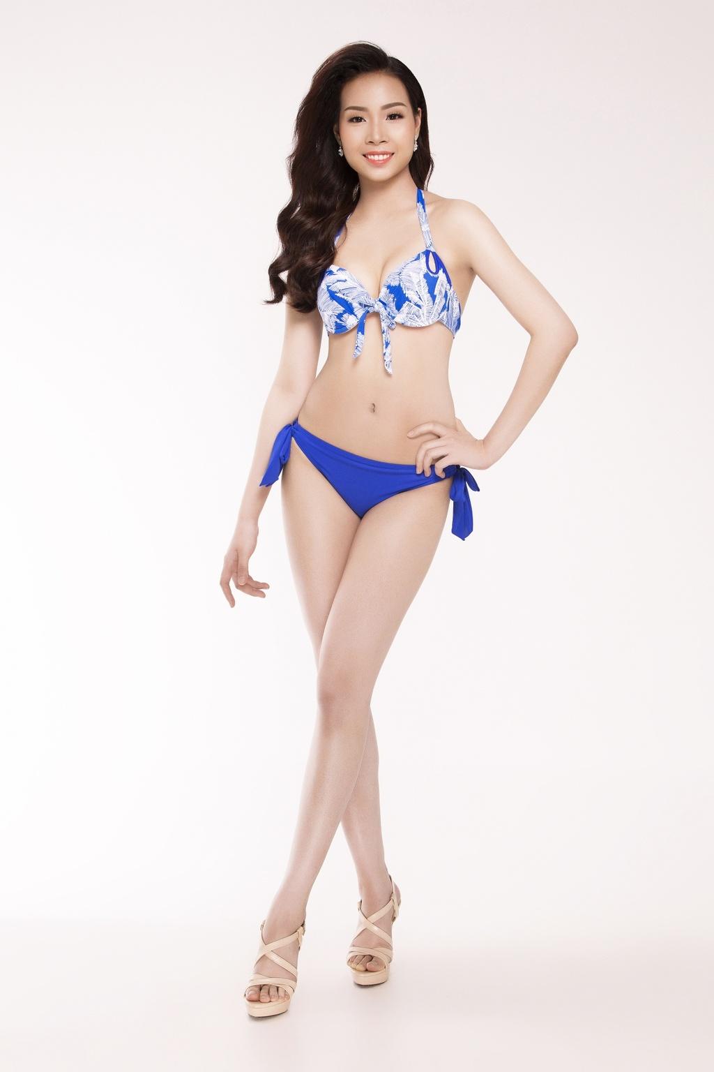 Nguoi dep Hoa hau Viet Nam 2016 tao dang voi bikini hinh anh 5
