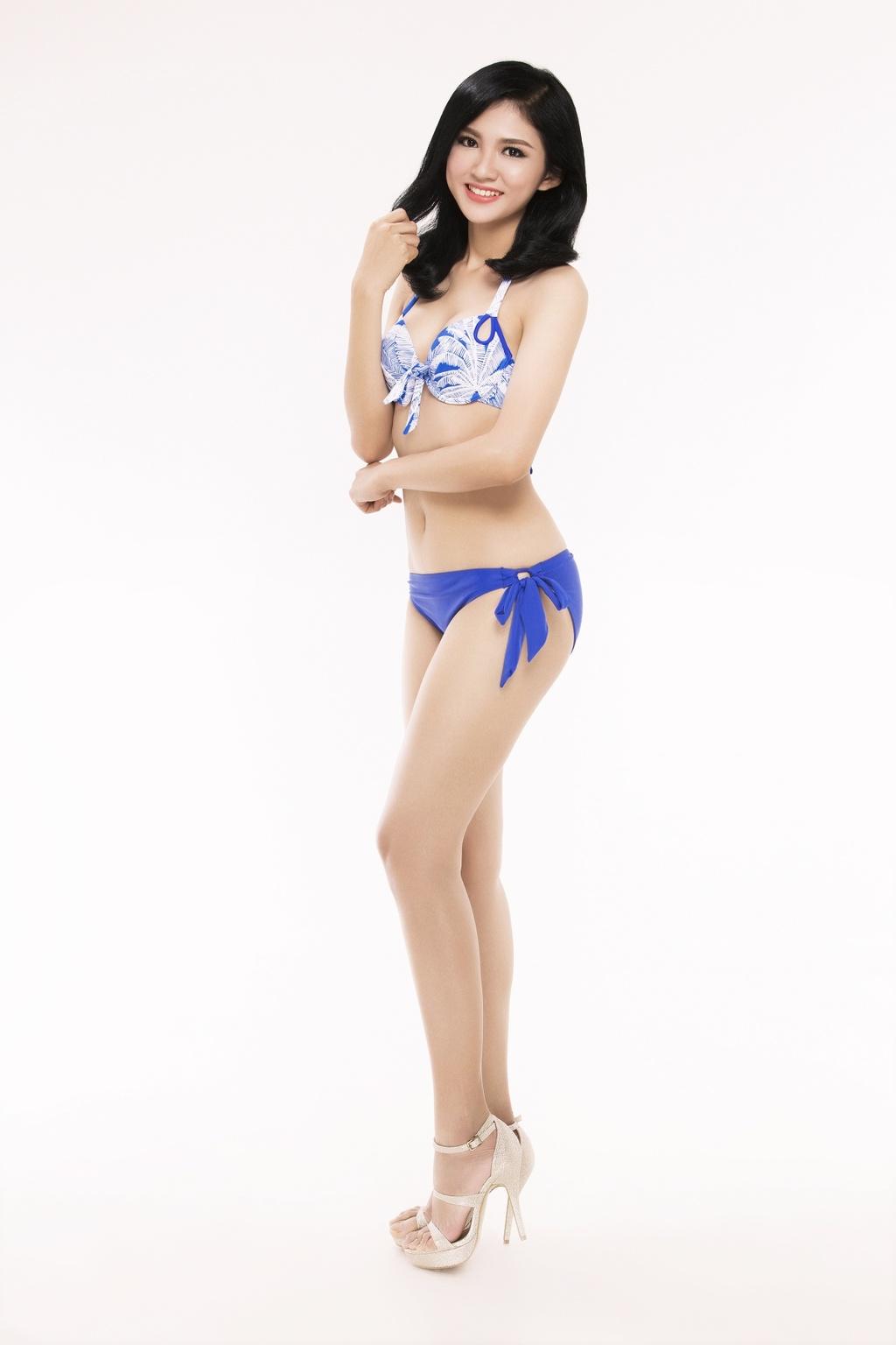 Nguoi dep Hoa hau Viet Nam 2016 tao dang voi bikini hinh anh 17