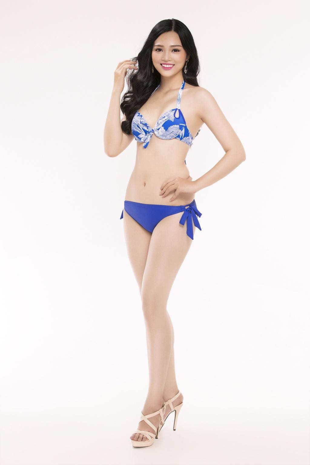 Nguoi dep Hoa hau Viet Nam 2016 tao dang voi bikini hinh anh 25